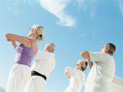 Gesund im Alter durch mehr Bewegung