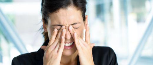 Augen reiben,bindehautentzündung