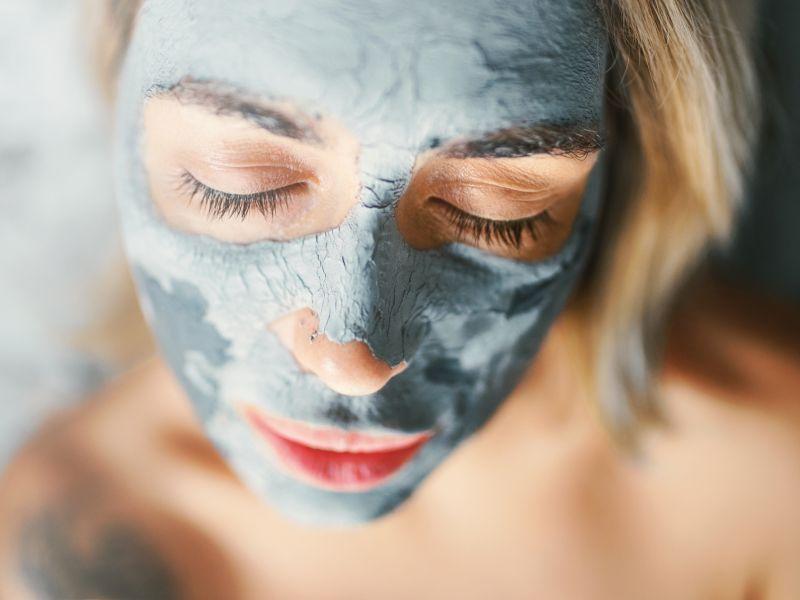 Heilerde: Maske selber machen