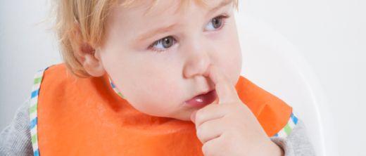 Nasebohren beim Essen