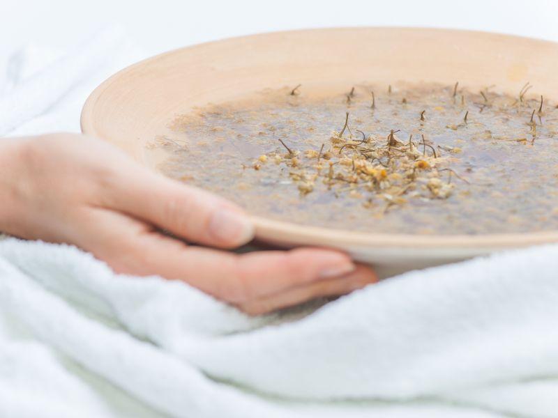 Bronchitis: Hausmittel Kamille