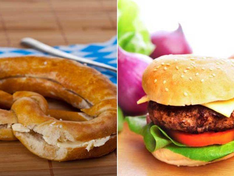 Butterbrezel oder Hamburger?
