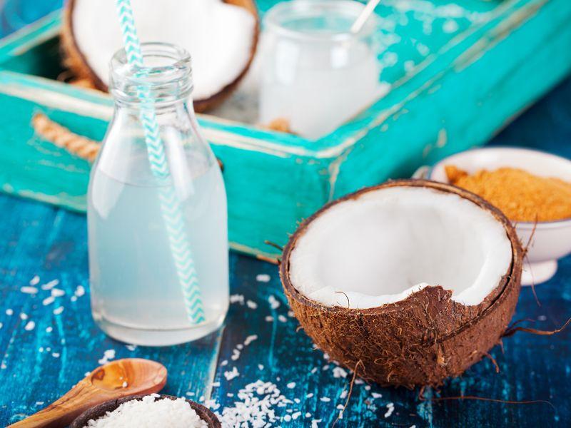Fitness-Cocktail Kokoswasser