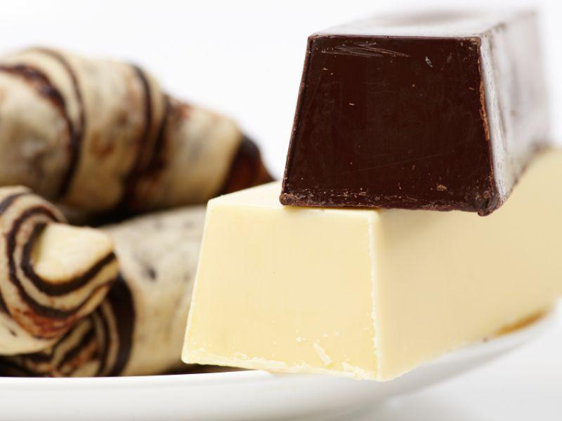 Je dunkler die Schokolade, desto gesünder
