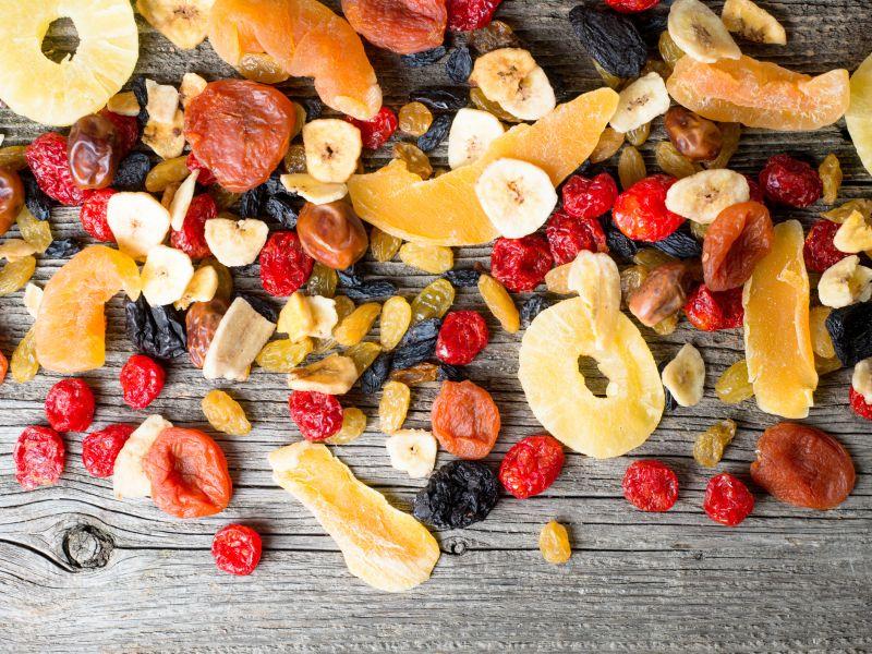 Kein Trockenobst bei Fructoseintoleranz