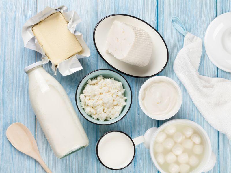 Vitamin B2 in Milch und Milchprodukten