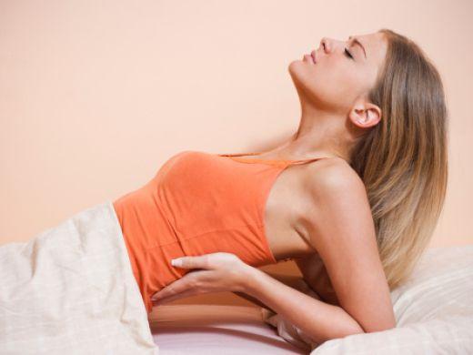 Menstruationsbedingte Rückenschmerzen
