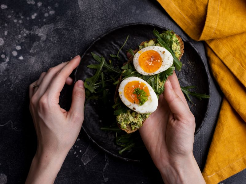 Alle Vitamine sind im Ei – bis auf eines