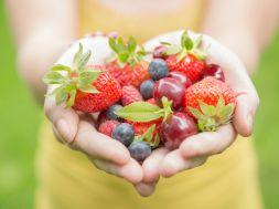 Obst, das Tumoren vorbeugt