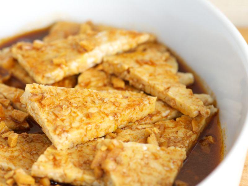Vegetarische Lebensmittel mit Vitamin B12