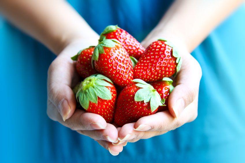 Gesunde-Erdbeeren-Wenig-Kalorien-viel-Geschmack
