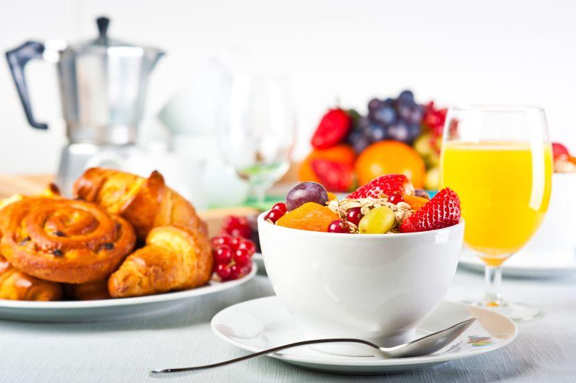 Gesundes Frühstück und Abendessen zum Abnehmen