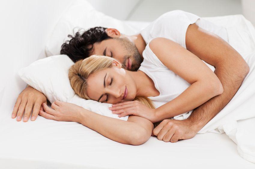 Pärchen Schlafen