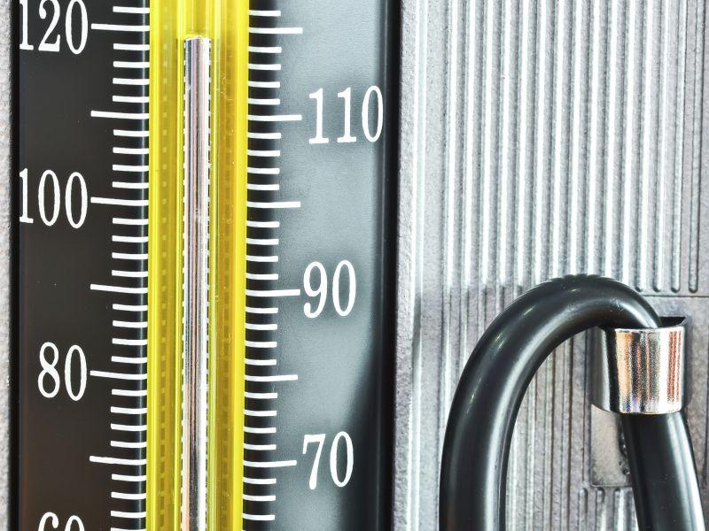 Die Maßeinheit des Blutdrucks