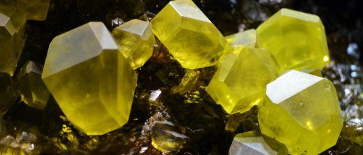 Schwefelkristalle Sulfur