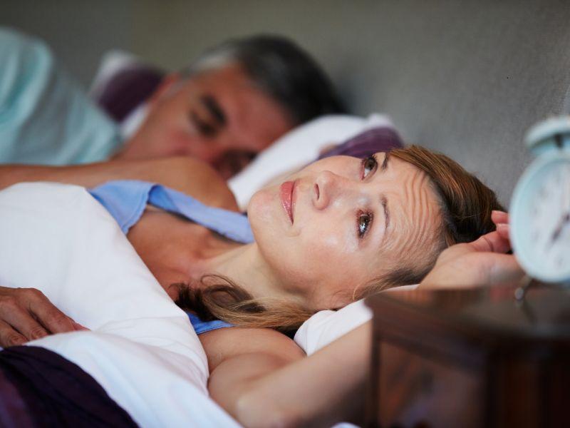 Platz 2: Schlafstörungen und innere Unruhe