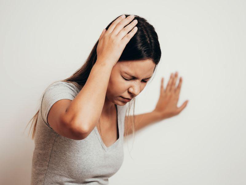 Sonnenstich-Symptome: Schwindel