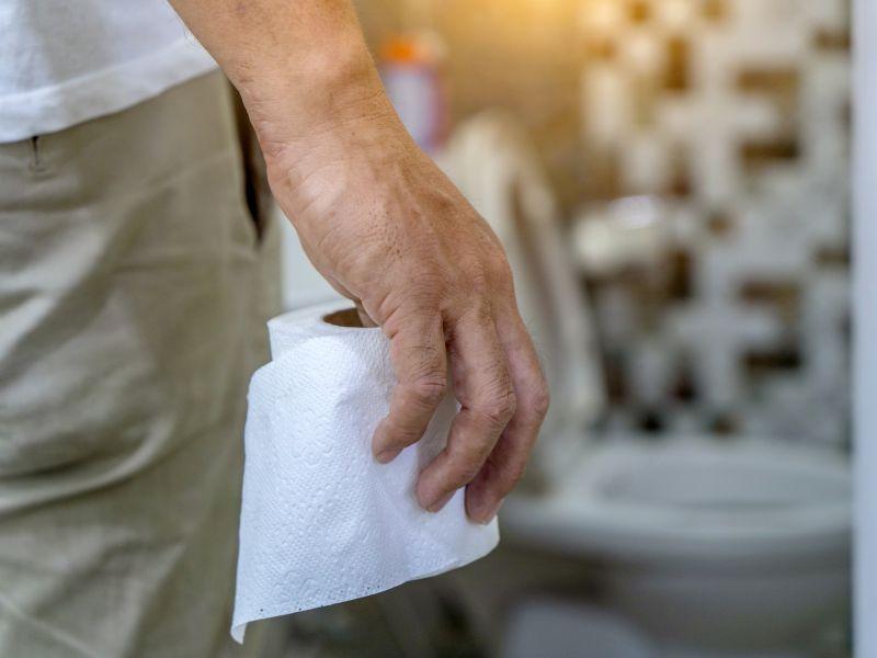Urinfarbe checken