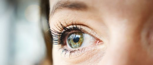 Close up of a woman's eye