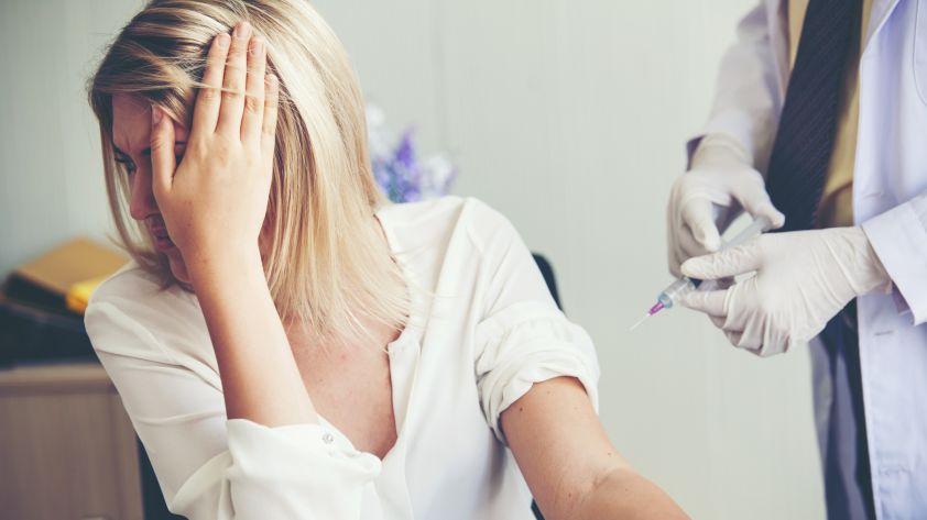 Angst vor Spritzen: Was hilft?