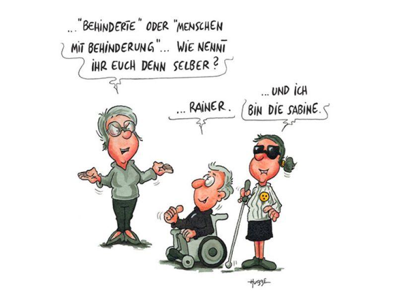 Behinderte oder?