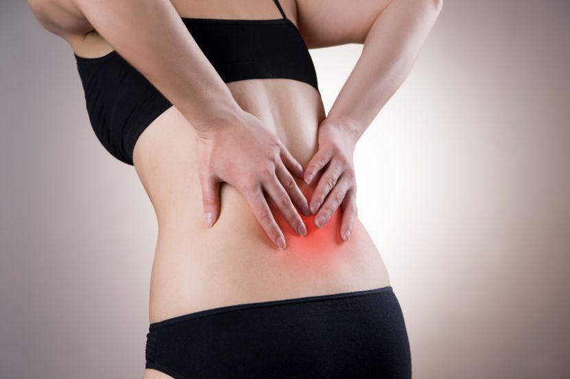 Iliosakralgelenk-Syndrom: Schmerzen im unteren Rücken