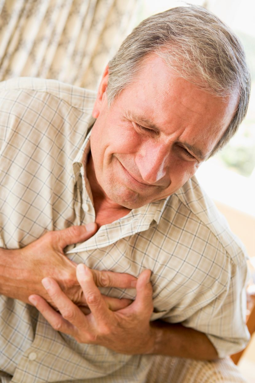 angina pectoris Angina pectoris occurs when the heart muscle doesn't receive enough blood and oxygen for a given level of work.