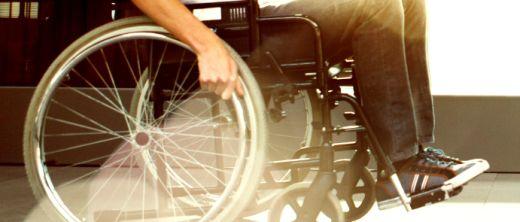 Rollstuhlfahrer Schwerbehinderung
