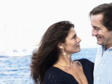 Ehepaar auf Kreuzfahrt