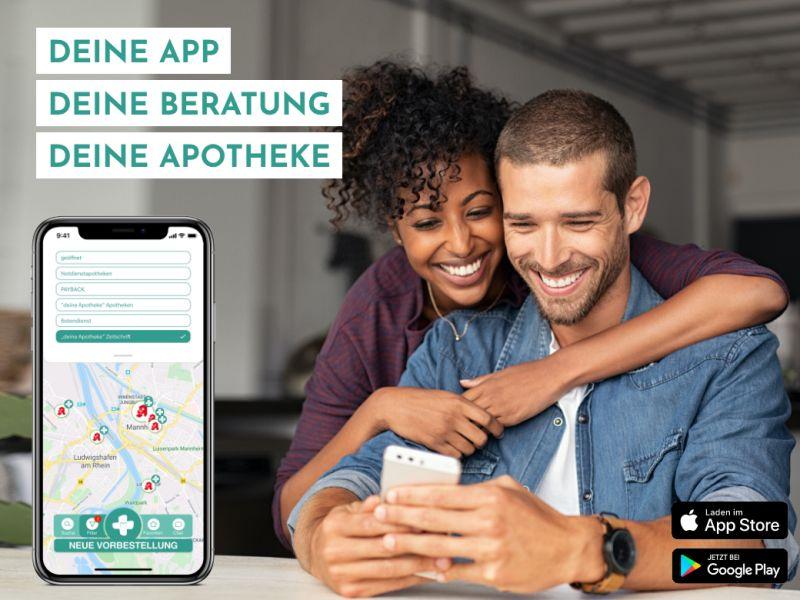 Apotheke über die App suchen