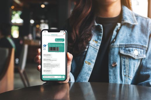 App your pharmacy chat function