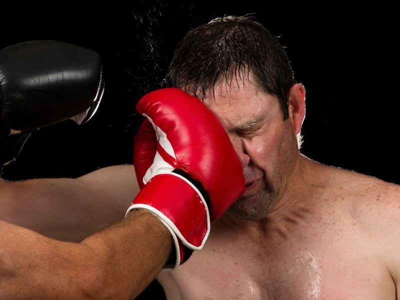 Nasenbluten beim Sport