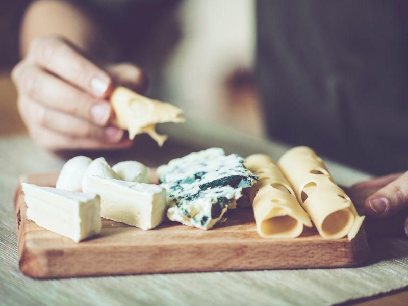 Käse enthält viel Kalzium