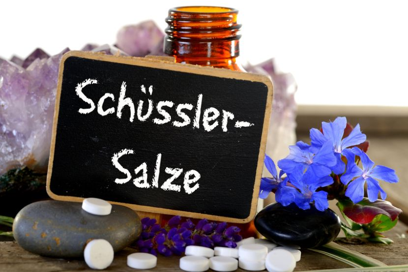 Schüssler Salze Wirkung Anwendung