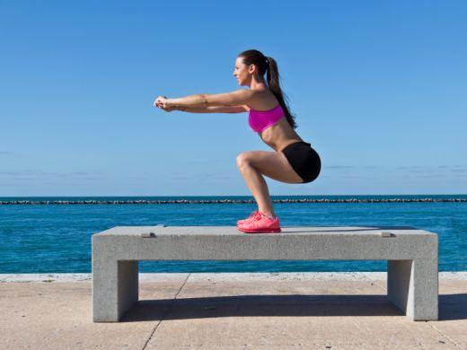 Workout für einen knackigen Po