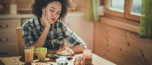 appetitlosigkeit frau frühstück müsli