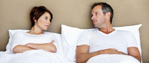 Paar mit sexueller Unlust