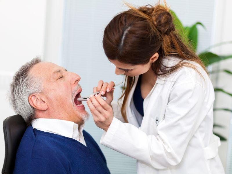 Zungenkrebs erkennen
